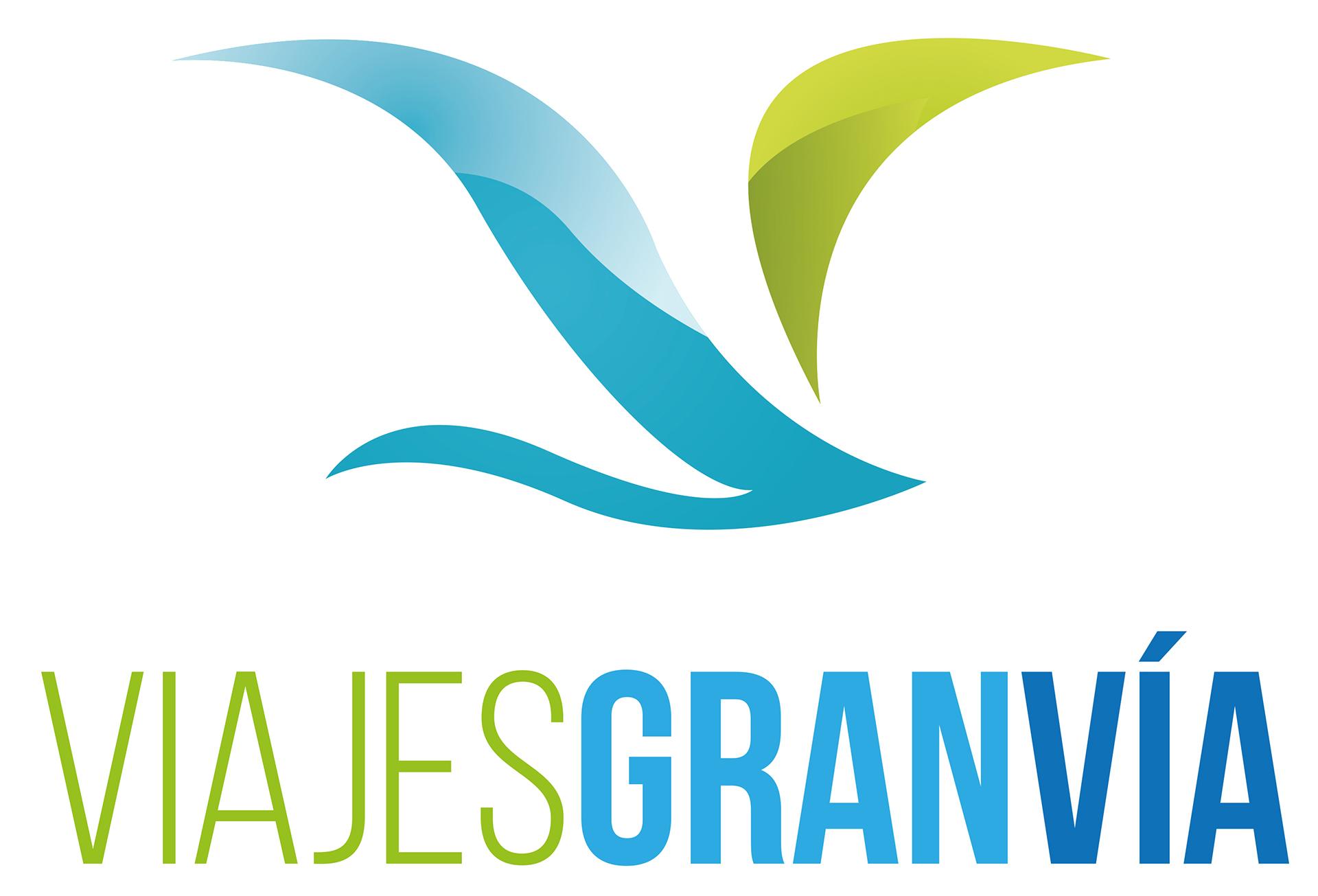 """Diseño de logotipo para agencia de viajes """"Viajes Gran Vía"""""""