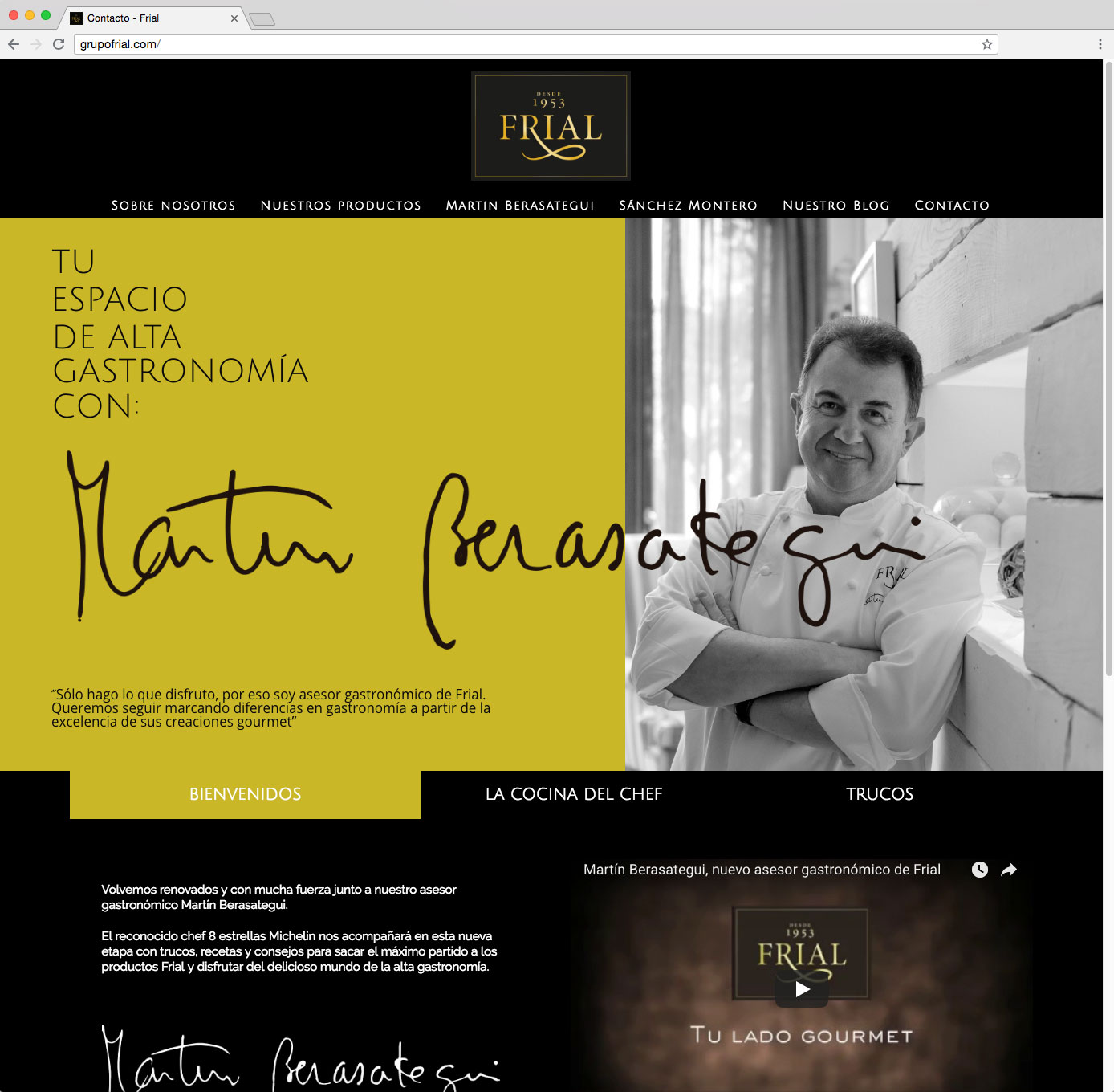 Web GrupoFrial